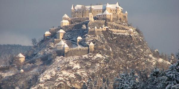 Burg Hochosterwitz im Winter