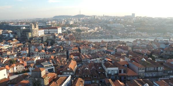 View from the Torre dos Clérigos