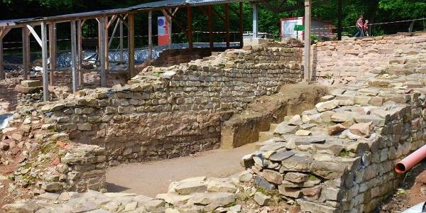 Ausgrabungsstaette Roemischer Vicus Wareswald