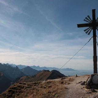 Gipfel-Grosse-Klammspitze