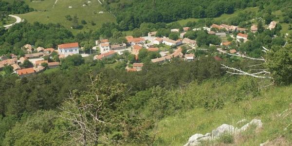 Brest s vrha Žbevnice