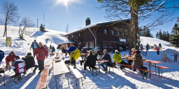Krunkelbach-Hütte Winter. Foto: Michael Arndt