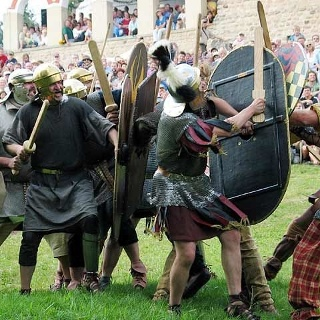 Römerfest in Hechingen-Stein