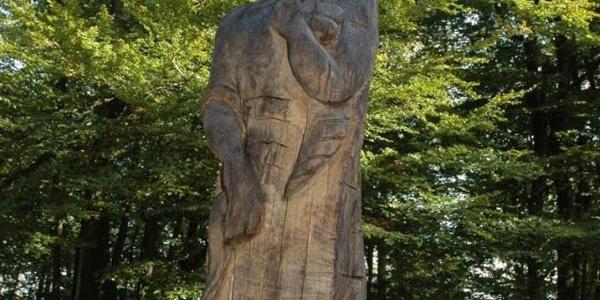 Skulptur Dagda