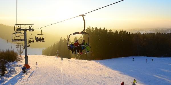 Das Skigebiet Schöneck