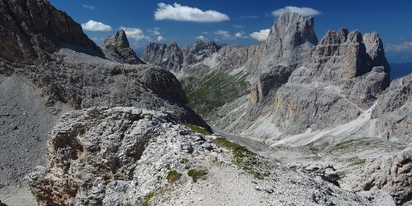 Passo Antermoia - herrlich