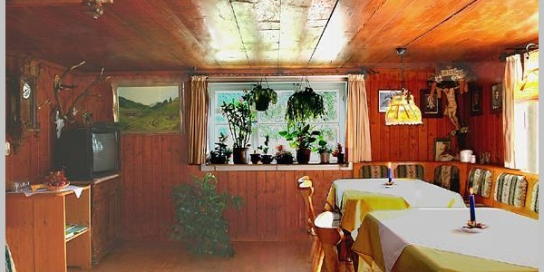 Frühstücksraum und Aufenthaltsraum