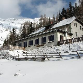 Waxriegelhaus im Winter