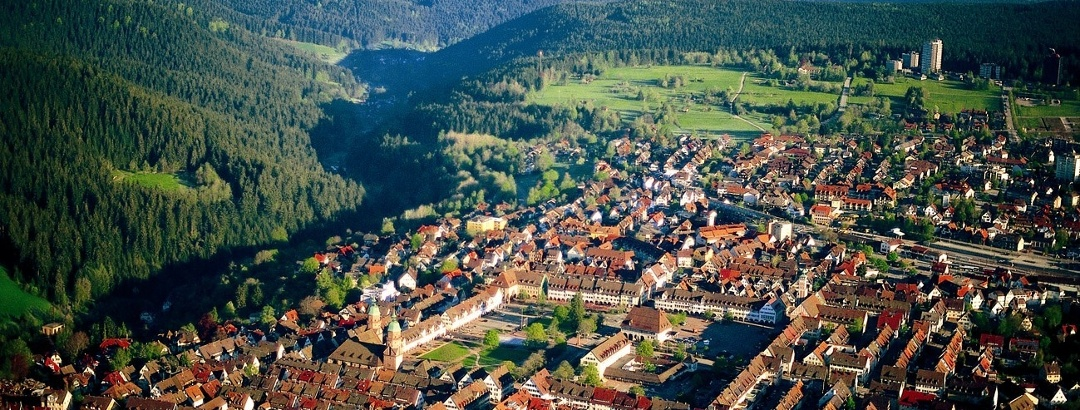 Freudenstadt von oben