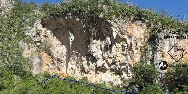 Cueva Cabeza de la Vaca - Ansicht vom Klettergarten