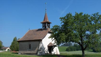 Vucherens, Sarandin: Chapelle Saint-Pierre et Saint-Pancrace (1737)