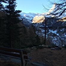 Relaxing panoramic stop