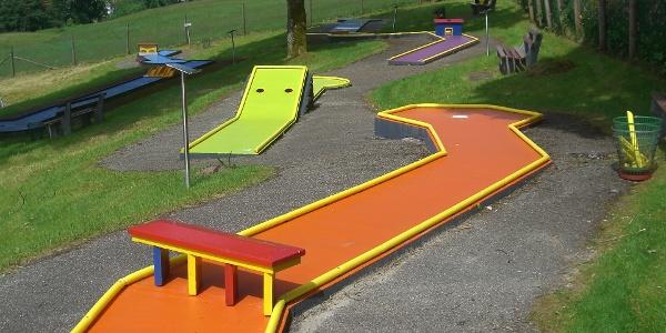 Minigolfplatz Obertal