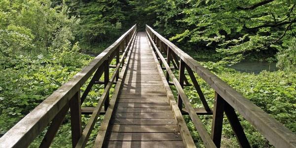 Drveni most u Kamačniku