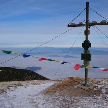 Hochobir,  Gipfelfoto