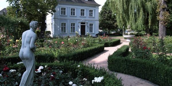 Ottweiler - Pavillon im Rosengarten