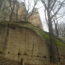 Teil der Festungsmauer