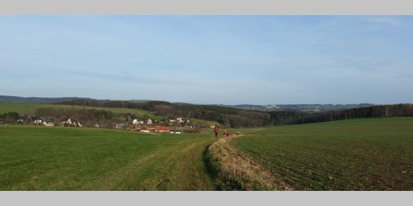 Blick nach Grünberg