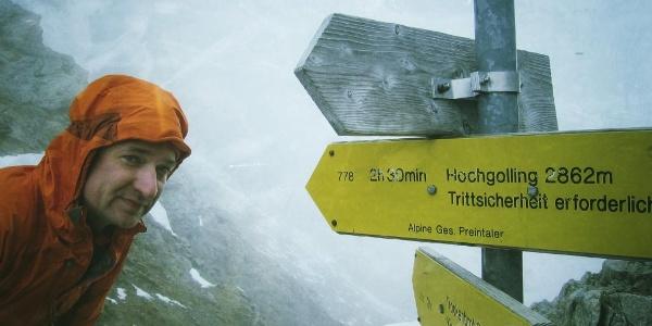 Gollingscharte (2.326 m) (03.10.2015)