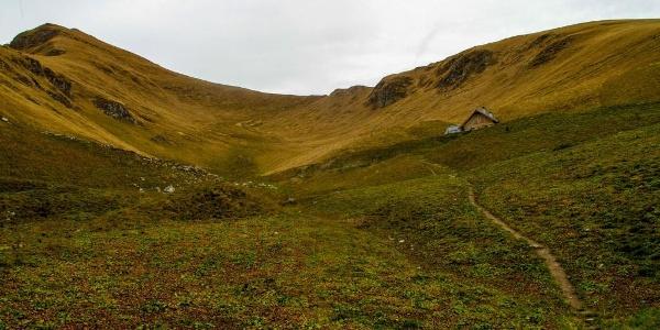 Sul selvaggio Monte Valandro