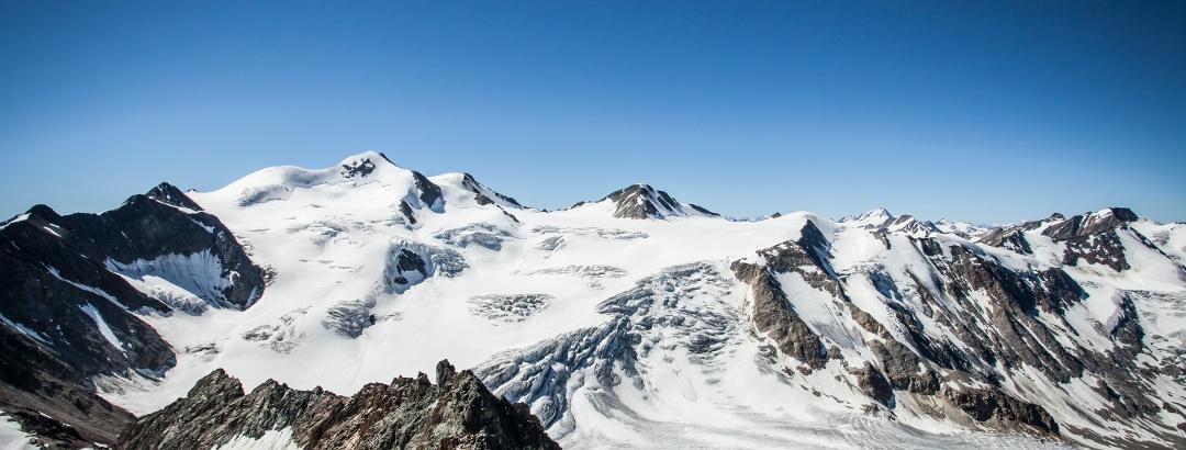 Blick auf die Wildspitze
