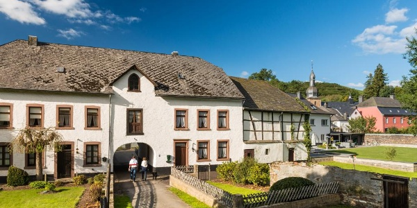 Bienvenue là-haut Burg-Reuland