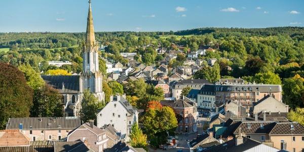 De stadstuin Eupen