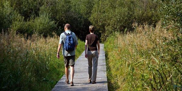 Hiking tour around the Lake Kaltern