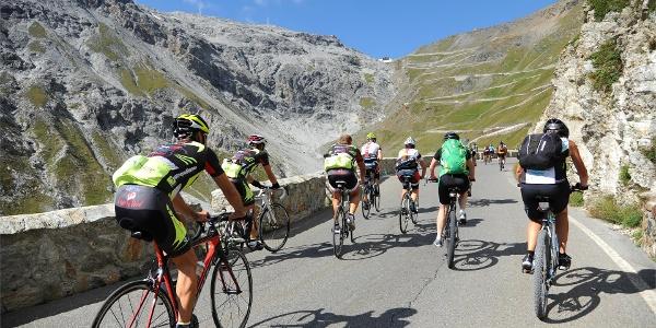 Giornata della bici - Scalata Cima Coppi