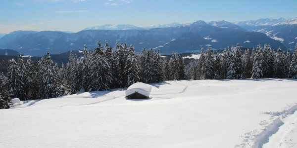 Panoramic view from the Vöraner Alm