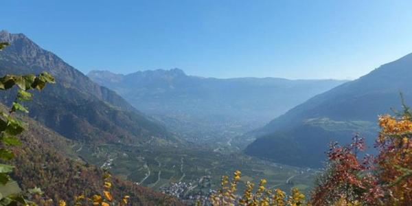 Sull'Alta Via del Monte Sole di Parcines