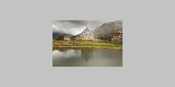 Das neue Hospiz auf dem St. Gotthard