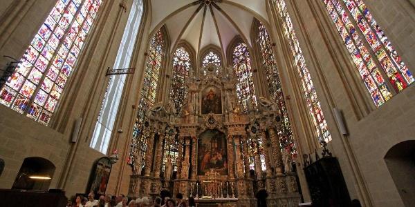 Altarraum - Dom Erfurt
