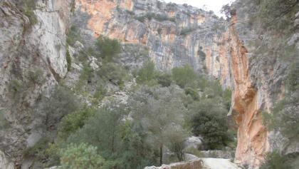 Abfahrt durch die Serra Mitjana
