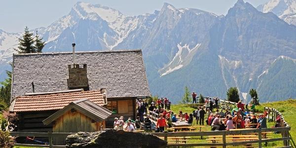 Grubbergalm mountain hut Pfitsch Sterzing