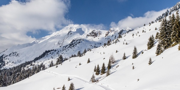 Monte Cavallo/Rosskopf Winter hiking trail to the Kuhalm