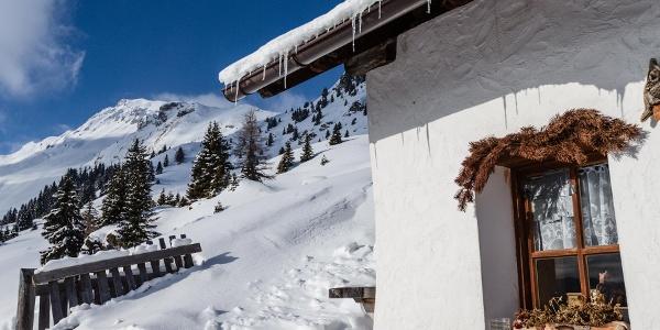 Rosskopf Winterwanderweg zur Kuhalm
