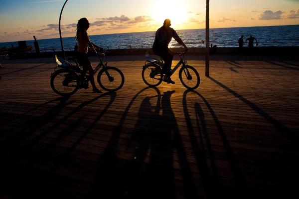 Radfahren in Tel Aviv