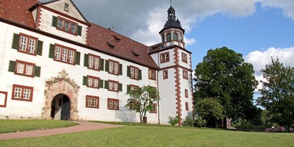 Schloß Wilhelmsburg Schmalkalden von Westen