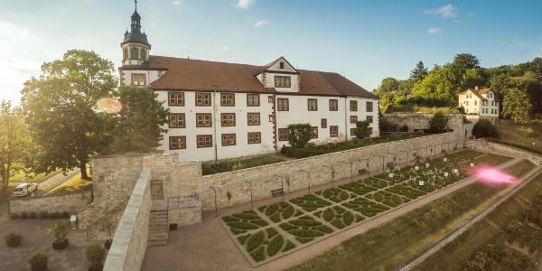 Schloß Wilhelmsburg Schmalkalden Schlossgarten