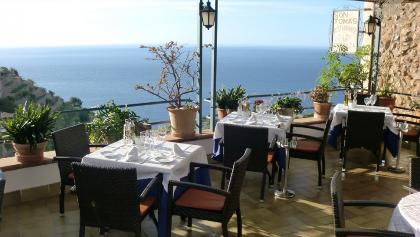 Restaurant Son Tomas am Ortseingang von Banyalbufar
