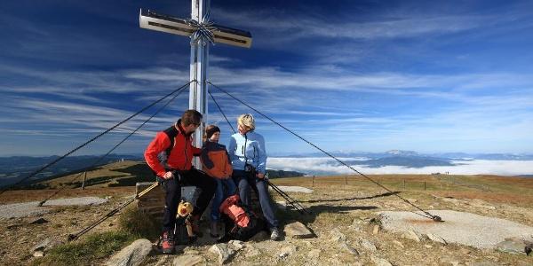 Am Gipfel des Stuhleck