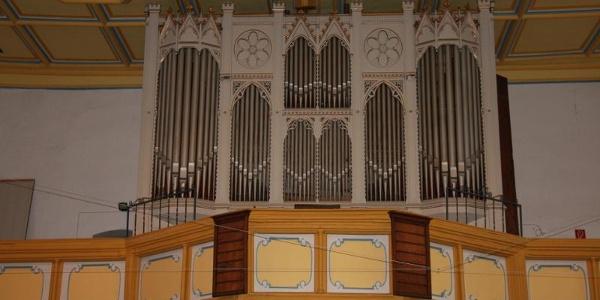 Ladegast-Orgel in der Kirche St. Marien