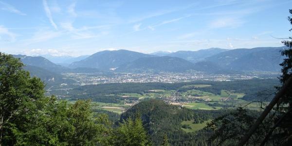 Blick auf Villach