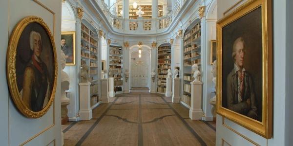 Rokokosaal - Herzogin Anna Amalia Bibliothek - Weimar