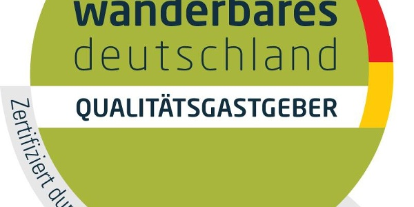 Plakette Qualitätsbetrieb Wanderbares Deutschland