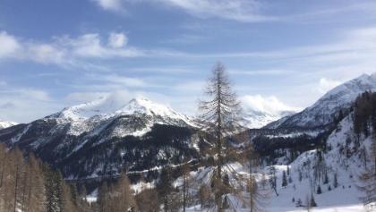 Blick nach Obertauern beim Aufstieg zur Südwienerhütte
