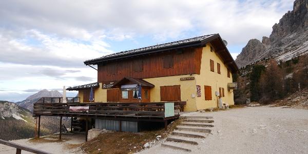 Das Rifugio Col de Varda