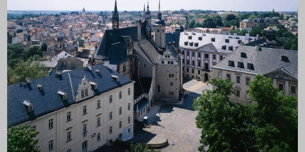 Innenhof - Residenzschloss - Altenburg