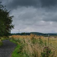 Kleiberg - Blick nach Osten.